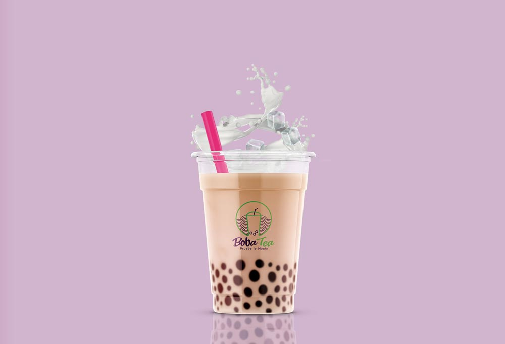 bebida boba tea